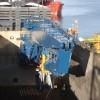 Loading a new Crane at Gdansk, Poland