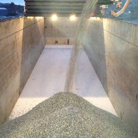 Loading Aggregates at Tau, Norway