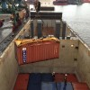 Loading Containers at Murmansk, Russia