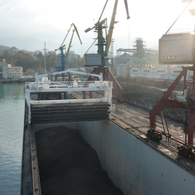 Loading HBI at Tuapse, Russia